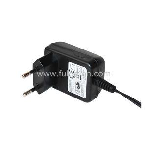 9W European Plug AC/DC Adapter