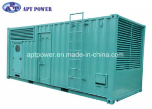 Compact 1250kVA 1000kw Electric Generator Powered by Cummins Engine pictures & photos
