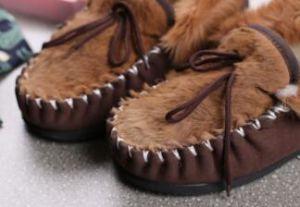 Kangaroo Skin Men Shoes Casual Shoes pictures & photos