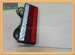 Tail/Stop/Turn Signal Reflector Lamp Lt-106 DOT Adr E4 Certification pictures & photos