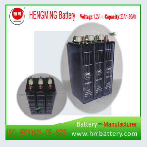 Ni-CD Rechargeable Nickel Cadmium 1.2V 20ah Battery pictures & photos