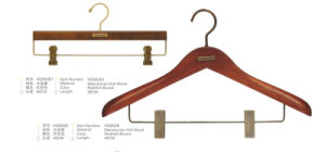 Wooden Coat Hanger and Pants Hanger for Display pictures & photos