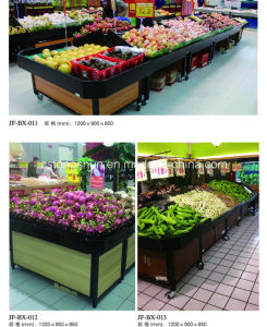 Vegetable and Fruit Display Stand Shelf for Supermarket pictures & photos