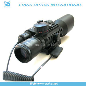 Tactical 3-10x42+G Rifle Scope Red Green Mil-DOT Reticle (M9A) pictures & photos