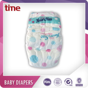 High Absorption Breathable and Dry Diaper Pampering Baby Diapers pictures & photos