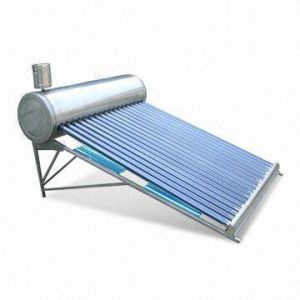 Compact Stainless Steel Non-Pressure Solar Water Heater pictures & photos