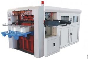 Paper Box Die Cutting Packaging Machine with Creasing pictures & photos