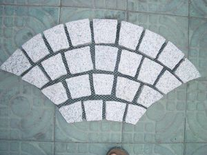 Cheap Granite Cube Stone (with Net for outdoor pavement) pictures & photos