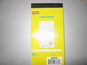 Carbonless/Sales Book