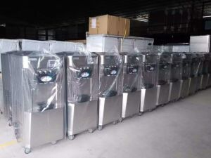 Auutomatic Pre-Cooling Soft Ice Cream Machine pictures & photos