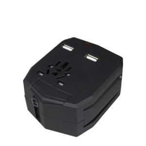 Armour Travel Adapter with USB Charger (WIX-B020) pictures & photos