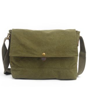 Designer Wholesale Unisex Canvas Shoulder Bag Satchel (RS- 6003) pictures & photos