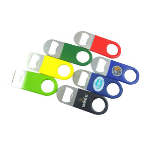 Stainless Steel PVC Coated Bottle Opener pictures & photos