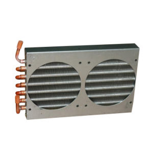 Copper Tube Finned Condenser Coil for Freezer pictures & photos