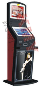 Dual Monitors E-Payment Touch Kiosk pictures & photos