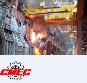 Ladle Lifting Crane 450/80 Tons, Metallurgical Crane, Overhead Crane pictures & photos