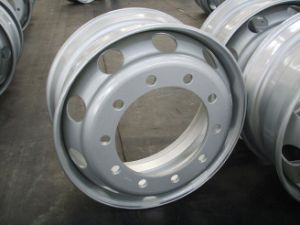 Truck Tyre Steel Wheel Rims (Tube & Tubeless) pictures & photos