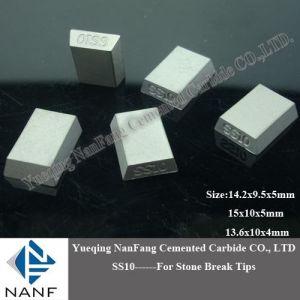 Carbide Tips of Ss10 Stone Break 13X10X5mm