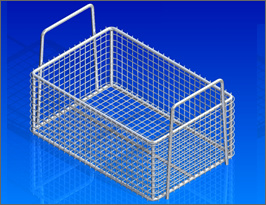 Stainless Steel Ultrasonic Cleaning Basket pictures & photos