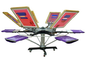 Manual T-Shirt Screen Printing Machine (M-606) pictures & photos