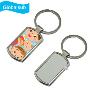 Sublimation Printing Blank Metal Keyrings pictures & photos