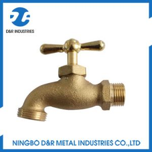 China Forged Brass Hose Bibcock pictures & photos