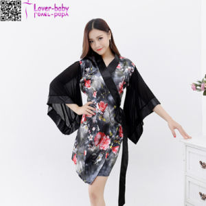 New Designs Women′s Sleeping Wear Kimono Nightwear L28209-4 pictures & photos