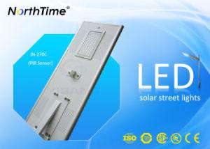 70W IP65 High-Efficiency Phone APP Control Solar Panel Street Light pictures & photos