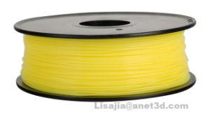 PLA 3D Printer Filament, PLA Filament, Translucent Yellow, 1.75 mm, 1000g pictures & photos