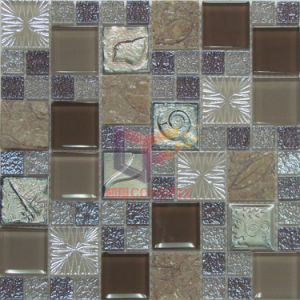 Luster Crystal Mix Resin Glass Mosaic (CSR068) pictures & photos