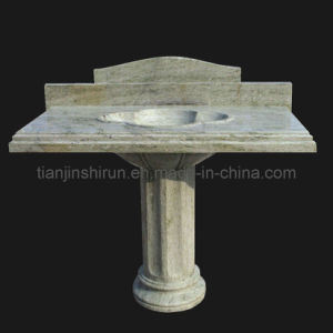 Green Marble Carving Basin (BSN323) pictures & photos