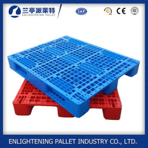 Heavy Duty Single Faced Style HDPE Rack Plastic Pallet pictures & photos