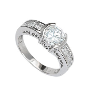 925 Silver Jewelry Ring (210793) Weight 7.3G