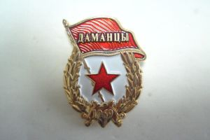 Gold 3D Military Safety Pin Badges Police Badges pictures & photos