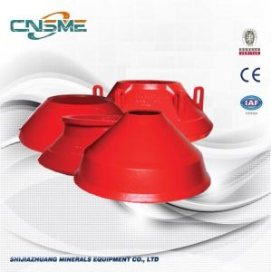 Mantle Bowl Linerhigh Manganese Casting Steel Cone Crusher Spare Parts pictures & photos