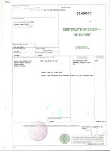 China Certificate of OriginForm China Certificate of Origin Form a – Certificate of Origin Forms
