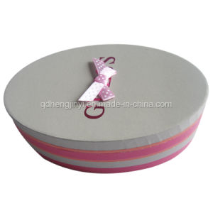 Customized Recycled Fancy Cardboard Round Gift Boxes Wholesale