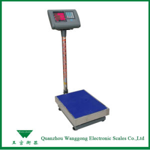 500kg 0.6X0.8m Digital Industrial Bench Scales with Accuracy 200g pictures & photos