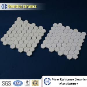 Alumina Ceramic Hexagonal Mat as Pulleys Ceramic Lining pictures & photos