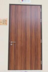 Steel Frame Wooden Door/Interior Door