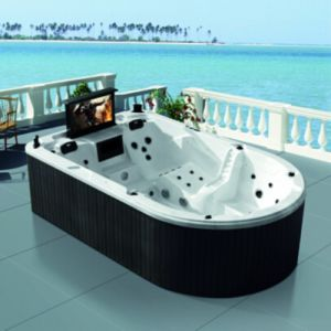7-Color LED Irregular Large Hot Tub SPA for Garden pictures & photos