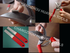Diamond Garden Shears Sharpener for Garden Gardening Knives. pictures & photos