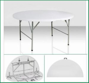60 in. Round Plastic Folding Table (SY-152ZY) pictures & photos