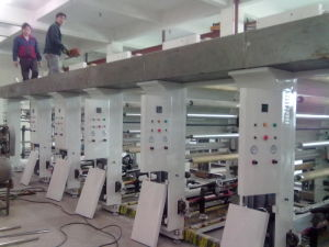 Non-Shaft Rotogravure Printing Machine (GPM-A)
