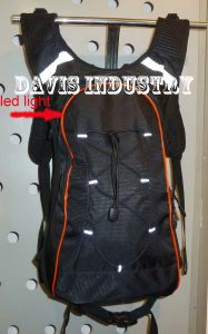 Hot Selling Backpack for Hydration Bladder for Hiking Trekking Cycling with LED Lights pictures & photos