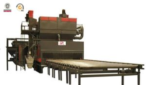 Roller Conveyor Type / Pass Through Type Shot Blaster with BV, SGS and ISO pictures & photos