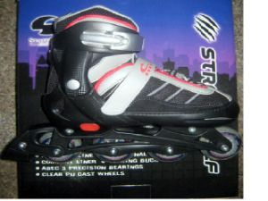 Roller Skates (S-082 Black)