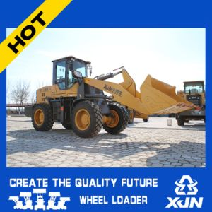 China Competitive Price of 2ton Wheel Loader Small Truck Loader Mini Dozer Zl33 pictures & photos