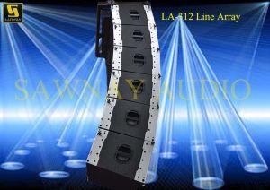 Dual 12′′ Speaker Cabinet (LA-312) pictures & photos