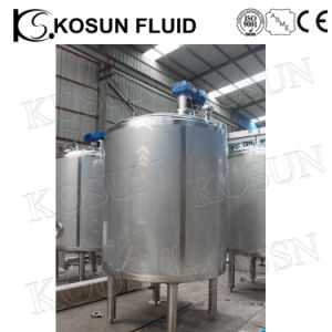 Food Grade Electric Steam Heating Double Jacketed Price of Mixing Tank pictures & photos
